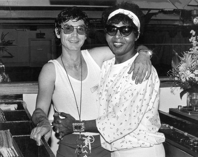 'DJ Beast and Candy Stevens, Ice Palace' c. 1980