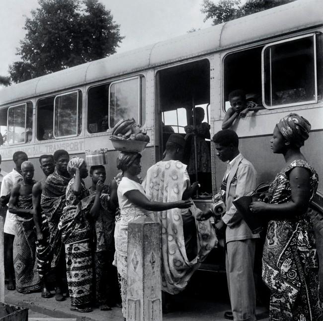 James Barnor (born 1929) 'Revolution in the public transport ticketing system, Accra' c. 1950s