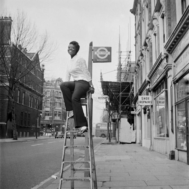 James Barnor (Ghanian, b. 1929) 'Drum cover girl Rosemarie Thompson, London' 1967