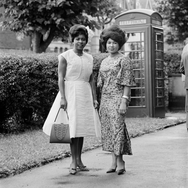 James Barnor (Ghanian, b. 1929) 'Wedding guests, London' 1960s
