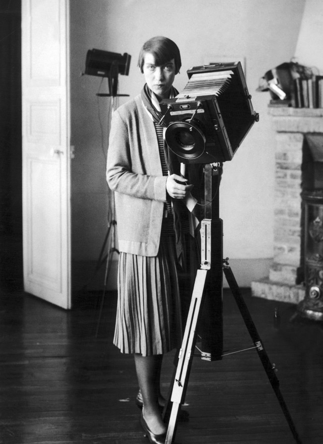 Berenice Abbott in an undated photo. Photographer and source unknown 1930s