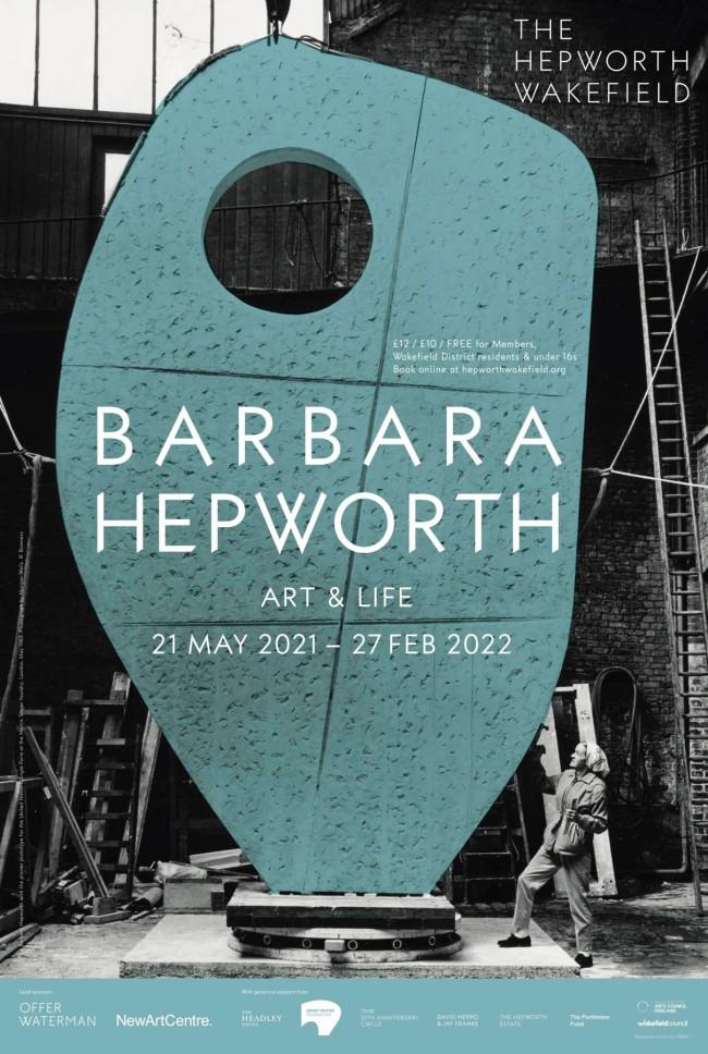 'Barbara Hepworth: Art & Life' poster