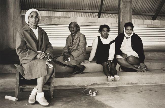 Mervyn Bishop (Australian, b. 1945) 'Womenfolk, Bowraville' 1974, printed 2008