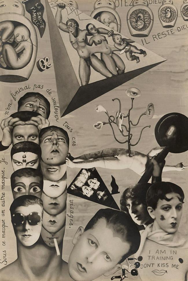 Claude Cahun (French, 1894-1954) 'I.O.U. (Self-Pride) in Aveux non avenus' 1930