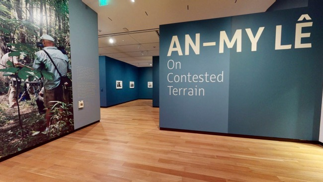 Installation view of the exhibition 'An-My Lê: On Contested Terrain' at the Amon Carter Museum of American Art