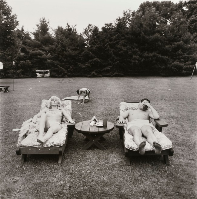 Diane Arbus. 'A family on their lawn one Sunday in Westchester, N.Y.,' 1968