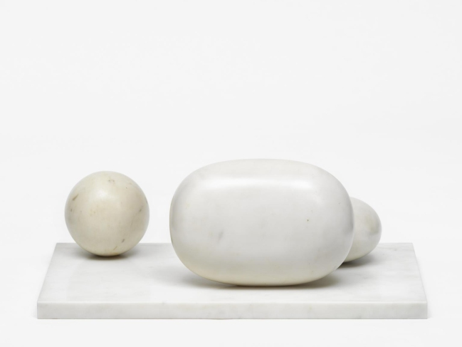 Barbara Hepworth (English, 1903-1975) 'Three Forms' 1935