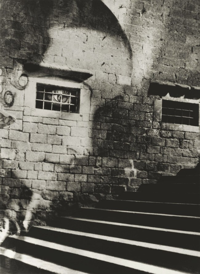 Kati Horna (Mexican born Hungary, 1912-2000) 'Stairway to the Cathedral, Spain' 1938