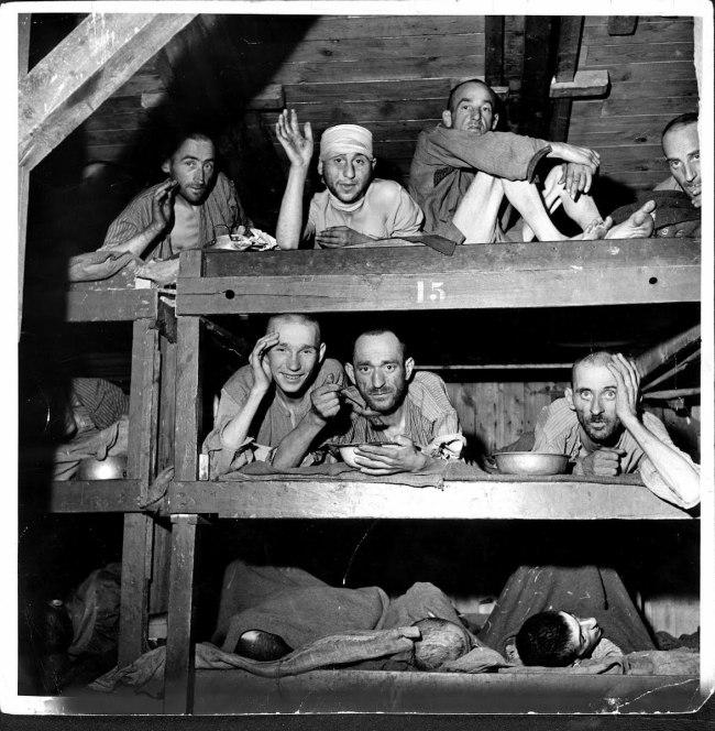 Margaret Bourke-White (American, 1904-1971) 'Buchenwald Prison' 13th April 1945