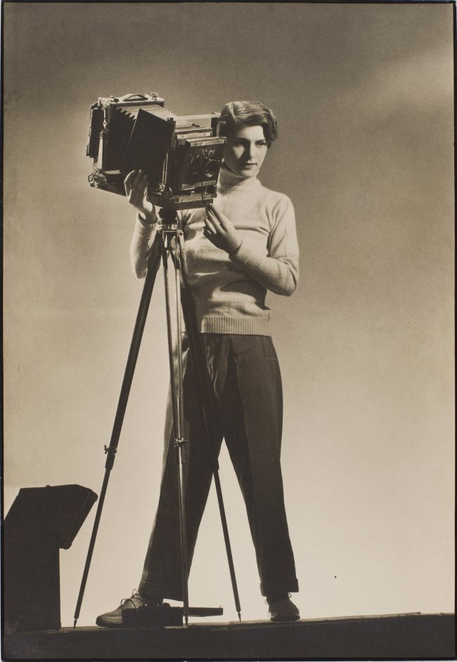 Margaret Bourke-White (American, 1904-1971) 'Self-Portrait with Camera' c. 1933