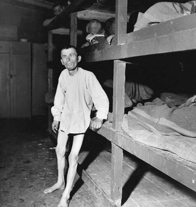 Margaret Bourke-White (American, 1904-1971) 'The Liberation of Buchenwald' April 1945