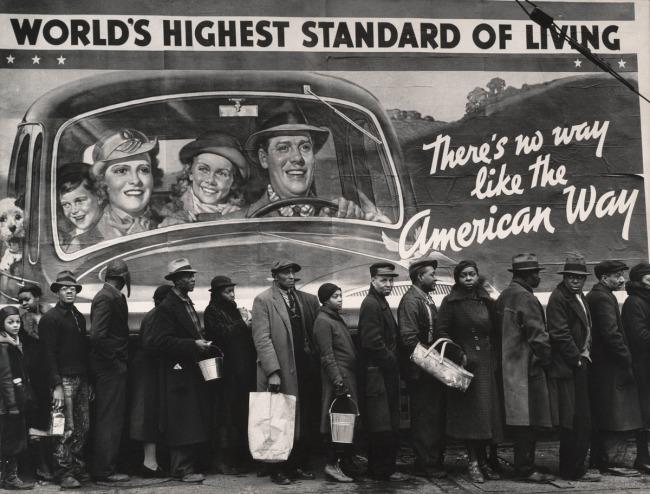 Margaret Bourke-White (American, 1904-1971) 'World's Highest Standard of Living' 1937