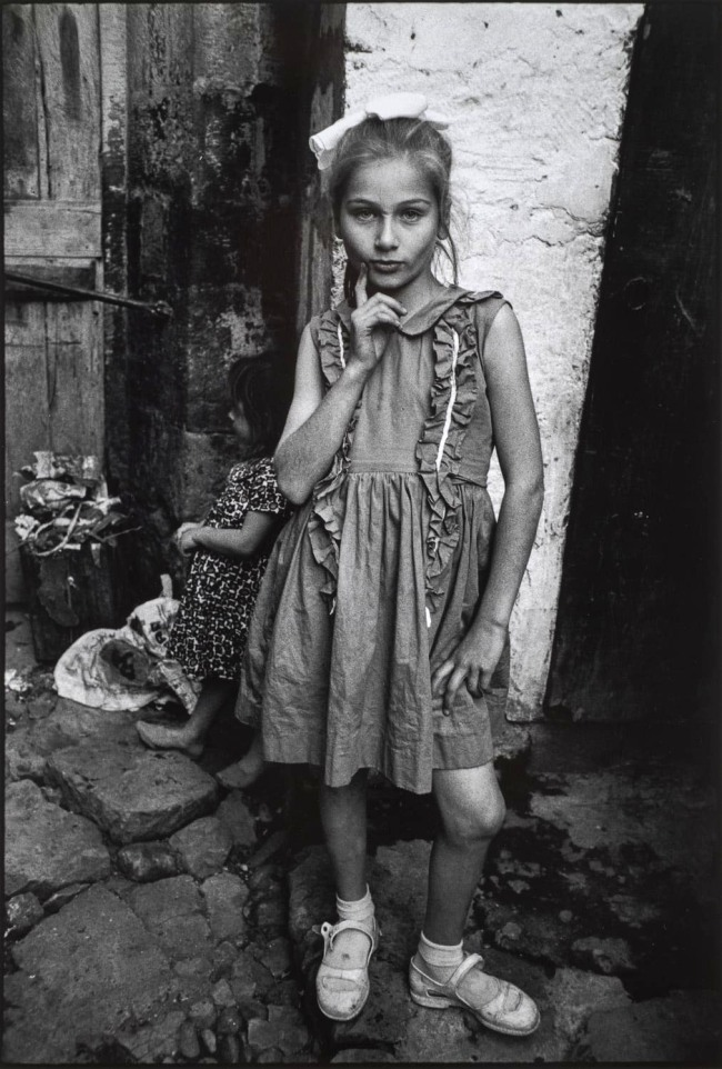 Mary Ellen Mark (American, 1940-2015) 'Emine Dressed Up for Republic Day. Trabzon, Turkey' Nd
