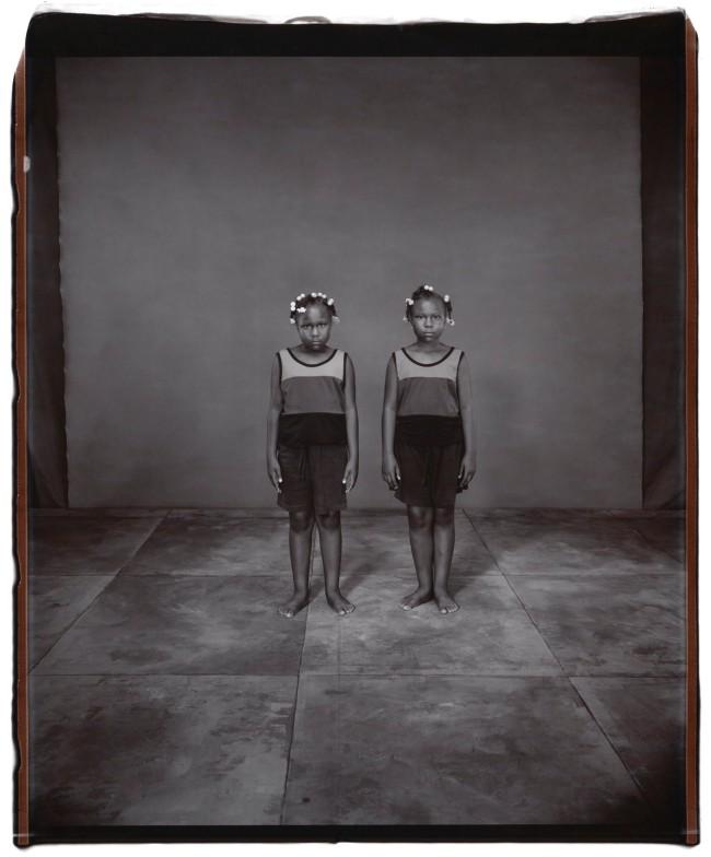 Mary Ellen Mark (American, 1940-2015) 'Idesha and Mikayla Preston, 8 Years Old, Idesha Older by 10 Minutes, Twinsburg, Ohio' 2002