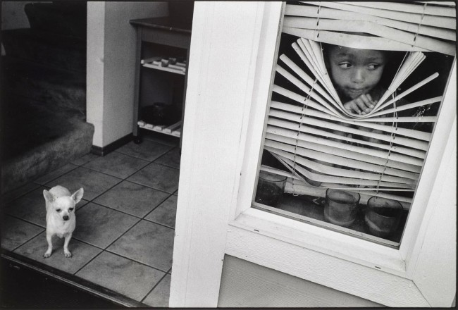 Mary Ellen Mark (American, 1940-2015) 'J'Lisa Looks Through the Blinds, Streetwise Revisited' Nd
