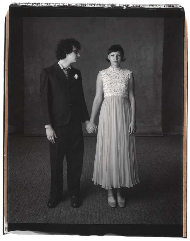 Mary Ellen Mark (American, 1940-2015) 'Lucas Nathan and Grace Bush-Vineberg, Palisades Charter High School Prom, Los Angeles, California' 2008