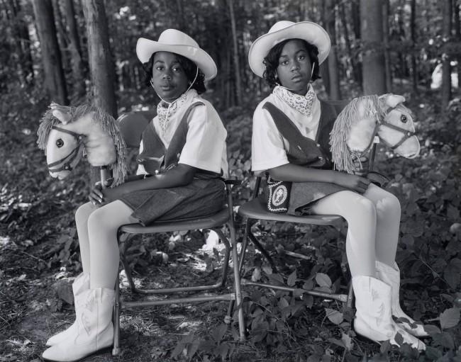 Mary Ellen Mark (American, 1940-2015) 'Tashara and Tanesha Reese, Twins Days Festival, Twinsburg, Ohio' 1998 (printed later)