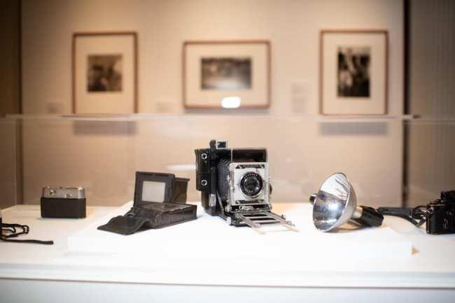 Mervyn Bishop cameras