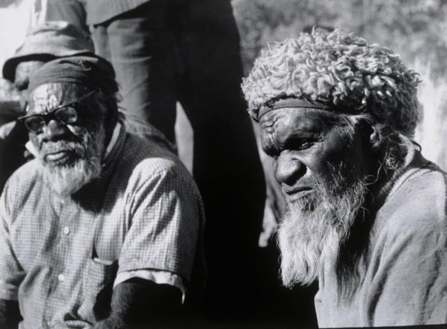 Mervyn Bishop (Australian, b. 1945) 'Elders, Amata' 1977, printed 1991