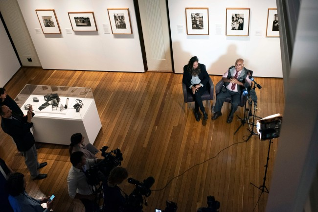 Mervyn Bishop media call 4 March 2021 - Curator Coby Edgar and Mervyn Bishop