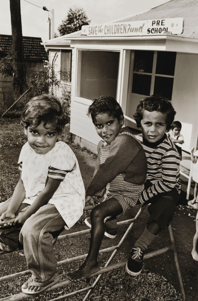 Mervyn Bishop (Australian, b. 1945) 'Save the children pre-school, Nambucca Heads' 1974