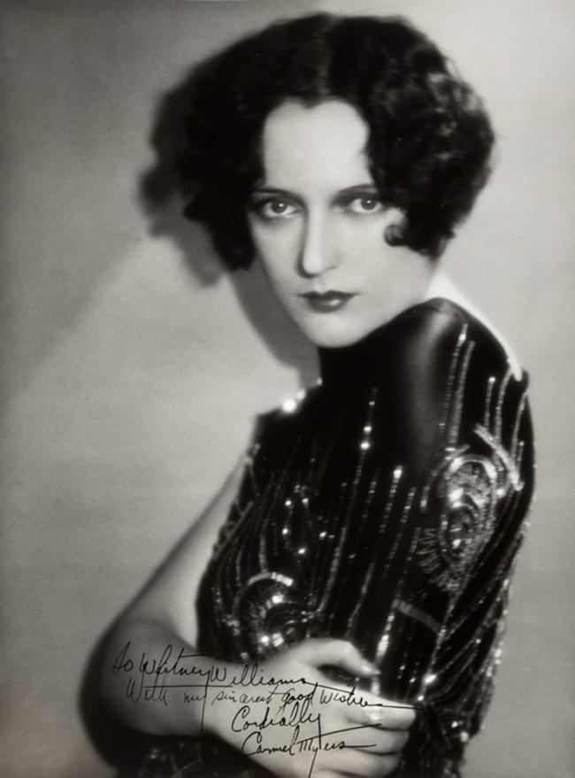 Ruth Harriet Louise (American, 1906-1944) 'Carmel Myers' 1925-30
