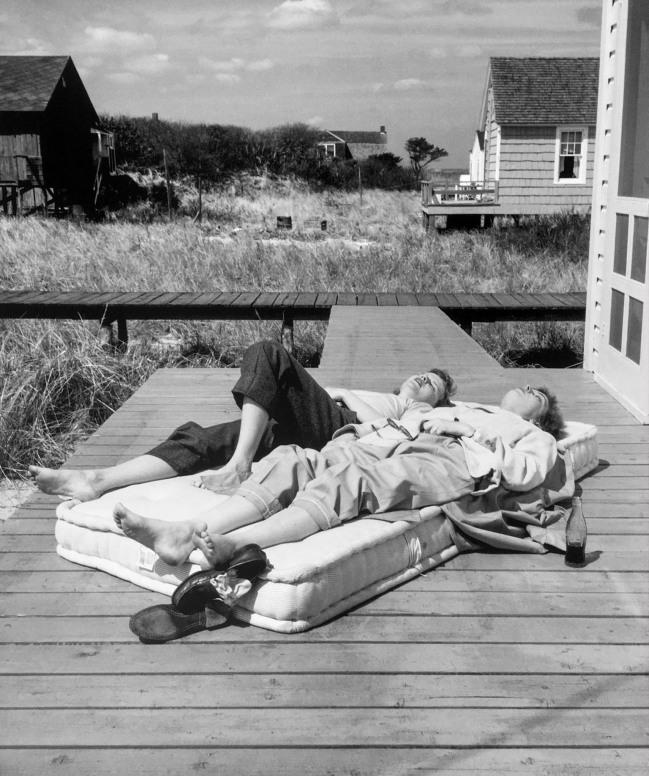 'Two Women Getting Sun' 1951