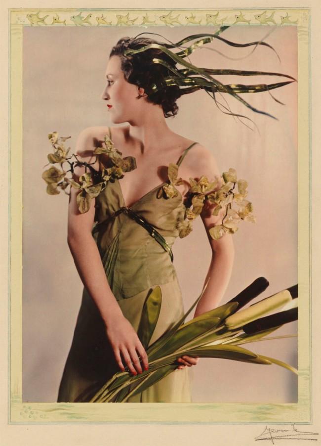 Yevonde Cumbers Middleton (British, 1893–1975) 'Lady Bridget Poulett as 'Arethusa'' 1935