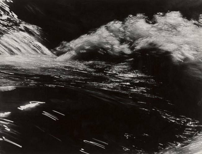 Thomaz Farkas (Brazilian, born Hungary. 1924-2011) 'Rushing Water Number 2' c. 1945