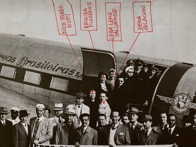 FCCB members on an excursion to Paquetá Island to visit the Sociedade Fluminense de Fotografia (detail)