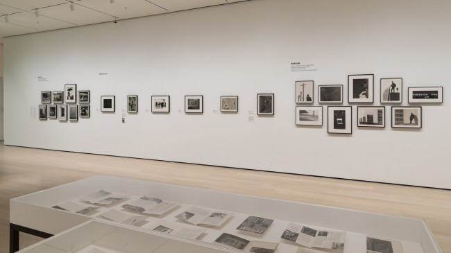 Installation view of the exhibition 'Fotoclubismo: Brazilian Modernist Photography, 1946-1964' at the Museum of Modern Art (MoMA), New York