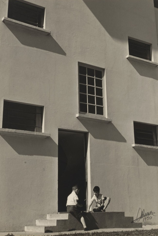 German Lorca (Brazilian, 1922-2021) 'Apartments (Apartamentos)' 1950-51
