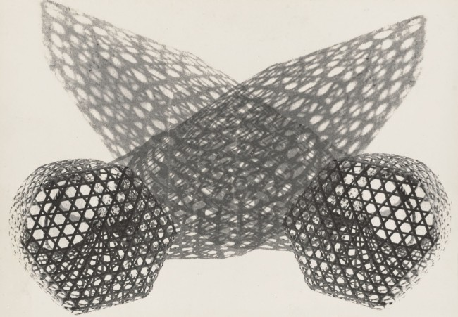 Gertrudes Altschul (Brazilian born Germany, 1904-1962) 'Untitled' c. 1955