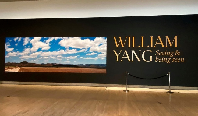 Installation view of the exhibition 'William Yang: Seeing and Being Seen' at the Queensland Art Gallery | Gallery of Modern Art (GOMA)