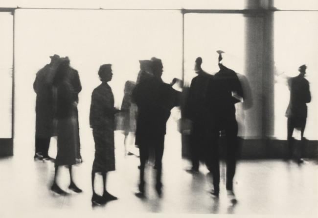 German Lorca (Brazilian, 1922-2021) 'Congonhas Airport, São Paulo' 1961
