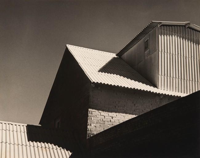 German Lorca (Brazilian, 1922-2021) 'White Roofs' (Telhados brancos) 1951