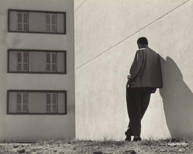 Ademar Manarini (Brazilian, 1920-1989) 'Untitled [Várzea do Carmo housing complex, São Paulo]' c. 1951