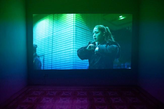 Tobias Zielony (German, b. 1973) 'Hansha' (installation view) 2019
