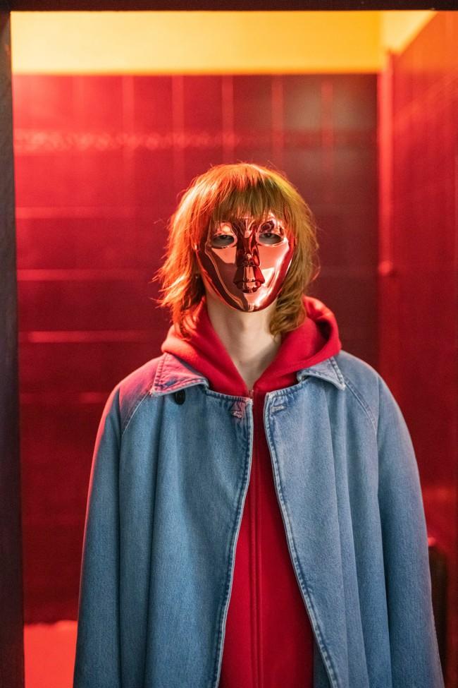 Tobias Zielony (German, b. 1973) 'Red Mask' 2019