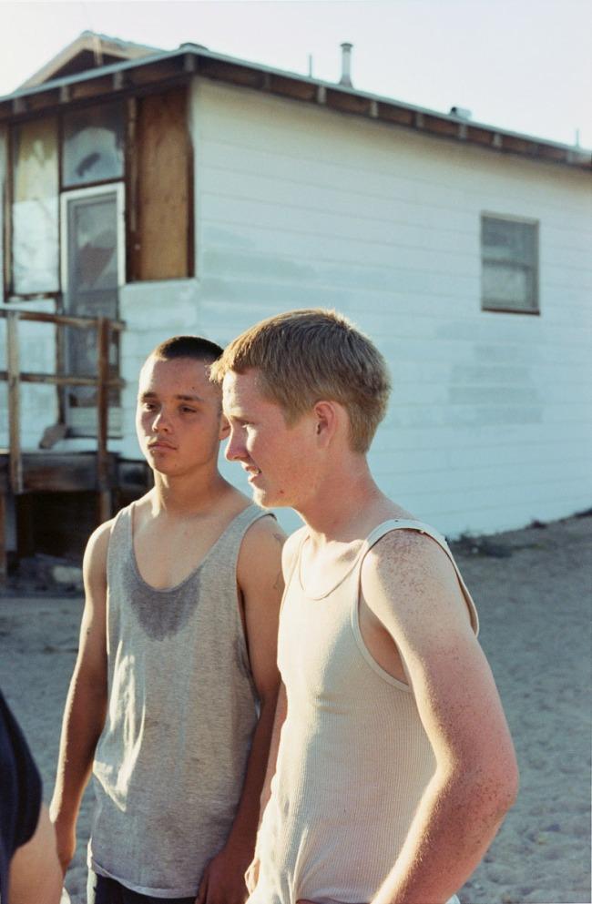 Tobias Zielony(German, b. 1973) 'Two boys' 2008