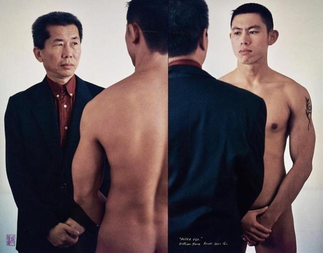 William Yang (Australia b. 1943) 'Alter ego' 2001