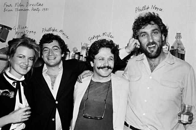 William Yang (Australia b. 1943) 'Four film directors' 1981