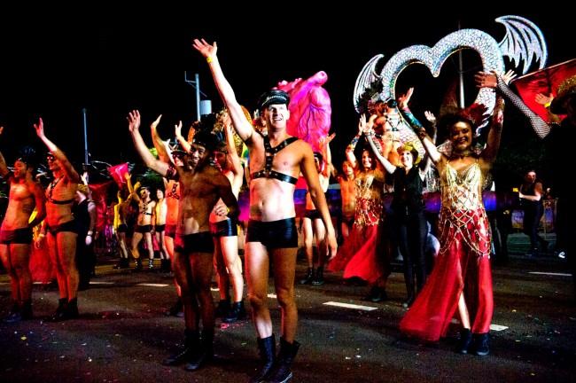 William Yang (Australia b. 1943) 'Marriage Equality, Mardi Gras' 2013