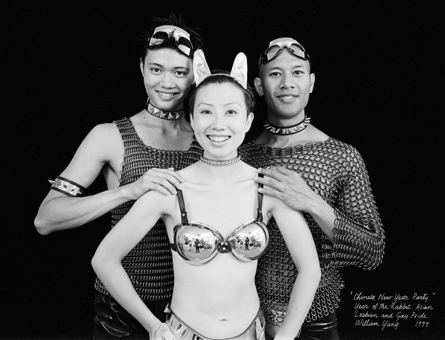 William Yang (Australia b. 1943) 'Chinese New Year Party Year of the Rabbit' 1999