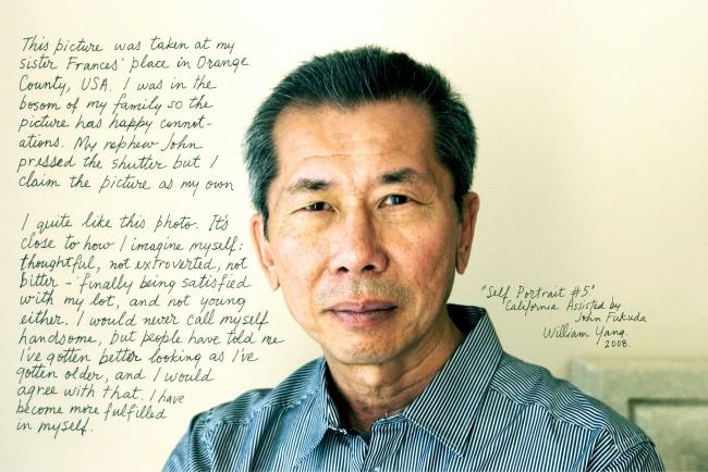 William Yang (Australia b. 1943) 'Self Portrait #5' 2008