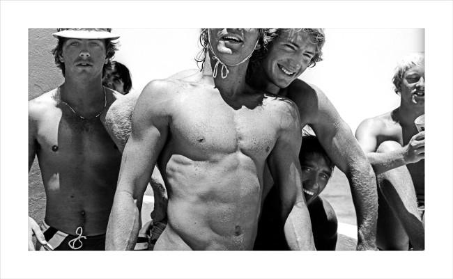 William Yang (Australia b. 1943) 'Tamarama Lifesavers' 1981