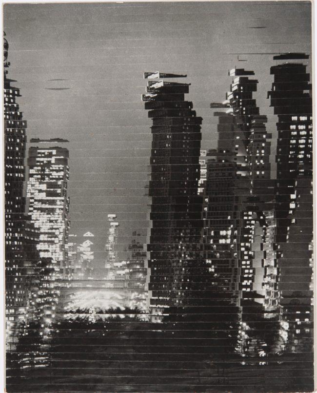 Roberto Yoshida. 'Skyscrapers' (Arranha-céus) 1959