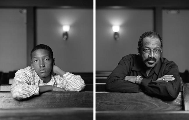 Dawoud Bey (American, b. 1953) 'Braxton McKinney and Lavone Thomas, Birmingham, AL' 2012