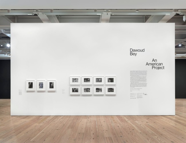 Installation view of'Dawoud Bey: An American Project'(Whitney Museum of American Art, New York, April 17-October 3, 2021)