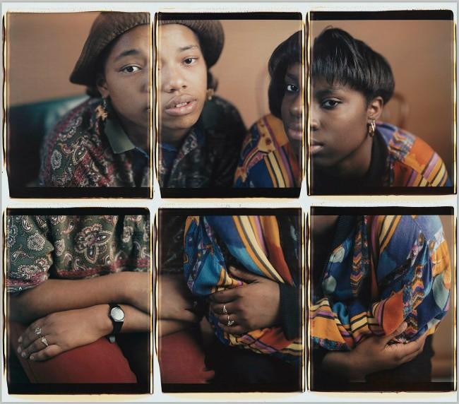Dawoud Bey (American, b. 1953) 'Martina and Rhonda, Chicago, IL' 1993